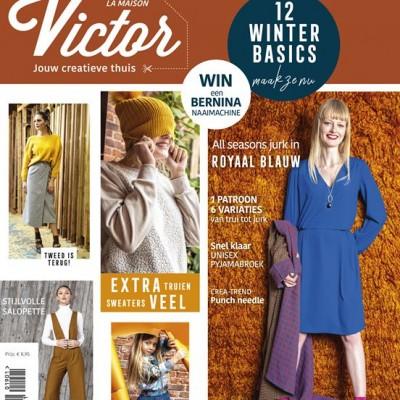 magazine Maison- Victor 01/2019 femme homme enfant patron couture