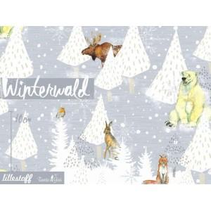Summersweat bio Winterwald aniamux en hiver gisi lillestoff