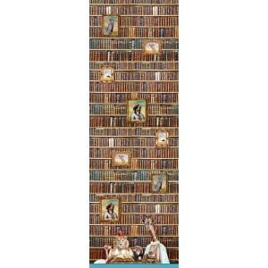 Simple Bordure Stenzo rats de bibliothèque lion girafe livre librairie drole cadre aniamux