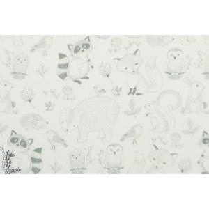 jersey Hilco bébés animaux ''Mini Baby layette raton laveur renard ours
