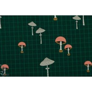 Popeline Michael Miller Wild Mushroom - Forest Gift