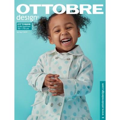 Magazine Ottobre Kids 1/2019 Français couture enfant bébé patron