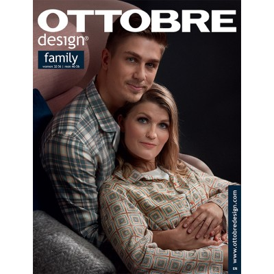 Magazine OTTOBRE DESIGN Family 7/2018 - patron couture famille femme homme