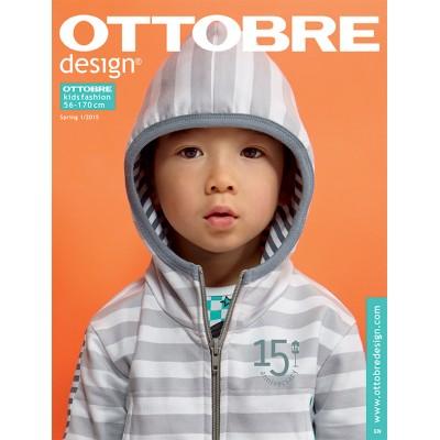 Magazine Ottobre Design Kids 1/15 anglais avec explicaton français