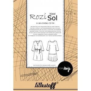 Patron Lillestoff robe Sol en Allemand - Rosi
