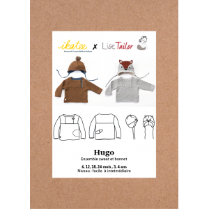 Pochette HUGO Ensemble sweat bonnet mixte IKATEE- Lise TAYLOR