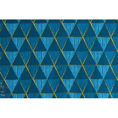 Jersey Bio Gémétric pétrole Design: Pamela Hiltl/enemenemeins pour lillestoff.