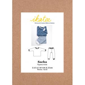 Patron Pochette IKATEE Pyjama Mixte Enfant 3/12ans