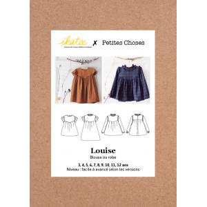 Patron Robe Louise enfant  3/12  Ikatee  & Petites Choses