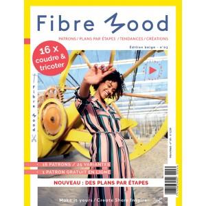 Magazine Couture Fibre Mood 3 francçais patron tricot femme enfant homme