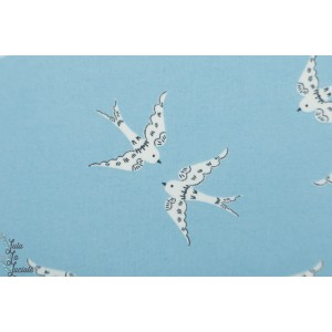 laminé Bio graceful Dove Cloud9 mat colombe imperméable oiseau ciel bleu