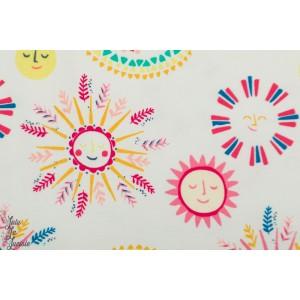 Jersey AGF Suny Side art gallery fabric soleil graphique été