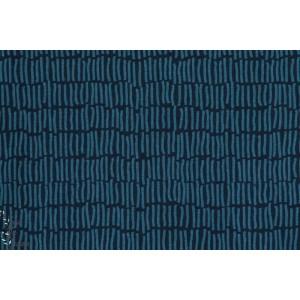 Jersey Bio Farn Fougère  Kombi Bleu