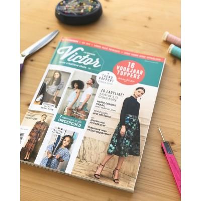Magazine Maison Victor 2-2019 francais mode couture patron femme famille