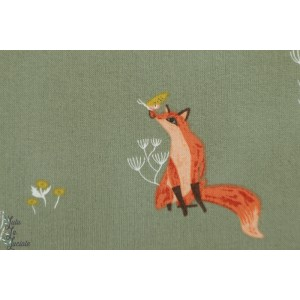 Popeline Fox Camp Wander Dear Stella SRR1008