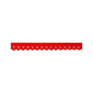 Elastique Rouge à Picot 30104 14mm au mètre