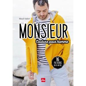 """Livre """"Monsieur Couture pour Homme"""" - Maud Vadon"""