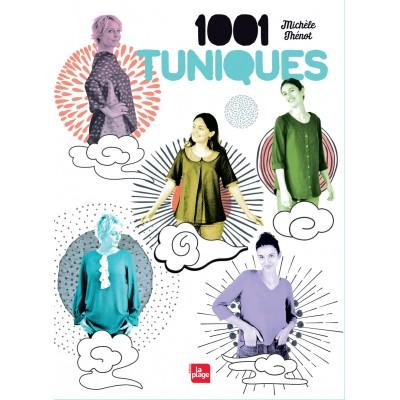 """Livre """"1001 tuniques"""" couture mode femme Michèle Thénot patron"""