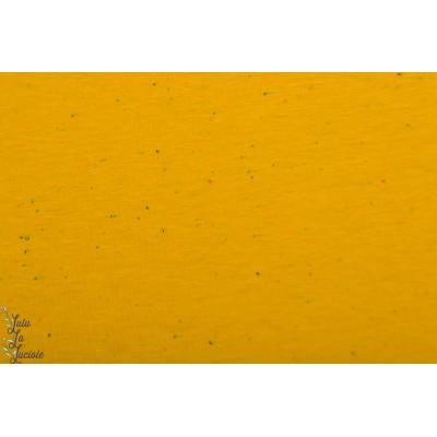 Molleton Cosy Colors Moutarde jogging jaune chiné poppy sweat