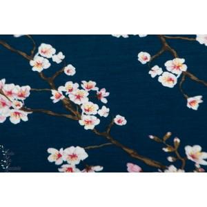 Modal Jersey Blossom marine Poppy