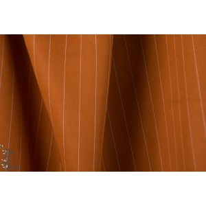 Tencel Pin STRIPE Twill MeetMilk Spice