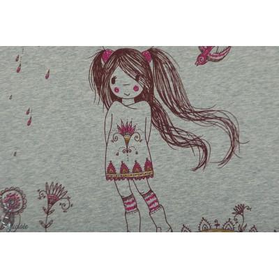 Panneau jersey Bio Manga Girl New Lillestoff SUSAlabim