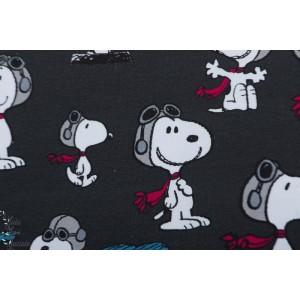 Jersey bio Snoopy Pilot dark grey