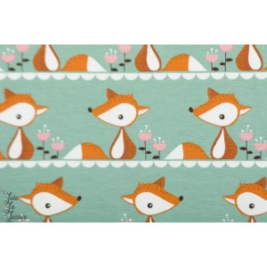 Jersey bio Little fox Green Stoffonkel