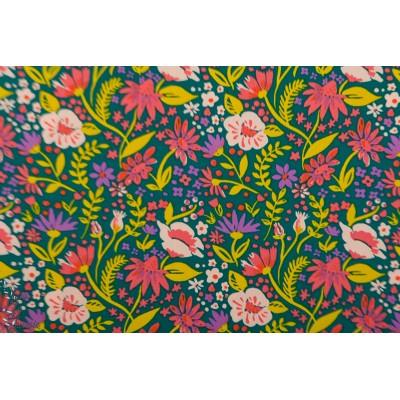 Popeline Bio Field of Flowers Monaluna Magical Creature fleur