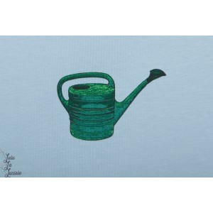 French terry Watering cans syas arosoir graphique see you at six