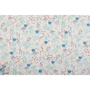 Coton Gabardine twill  Flower Garden - SYAS - See you at Six