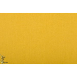 Coton gabardine Twill lemon Curry - SYAS - See you at Six jaune