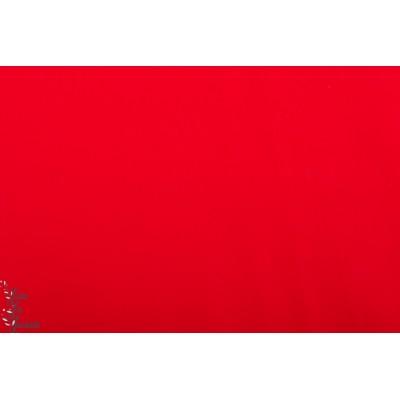 Popeline Unie Hilco Rouge