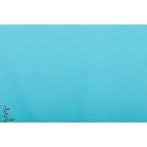 Popeline Unie Hilco Turquoise bleu