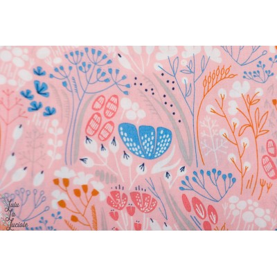 Popeline Bio Whitehaven - Metcombe Pink Cloud9 rose
