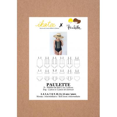 Patron Ikatee Maillot de bain Paulette enfant fille