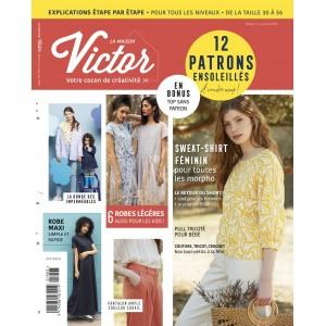 Magazine Maison Victor 3/2019couture patron femme enfant homme famille