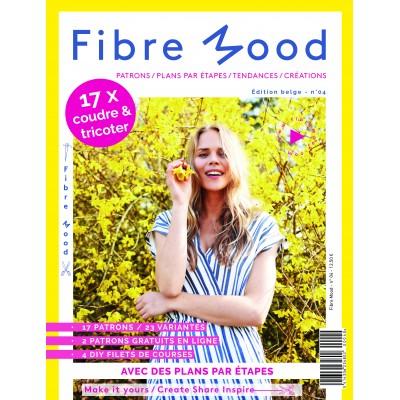 Magazine Fibre Mood 4mode patron couture femme homme enfant famille