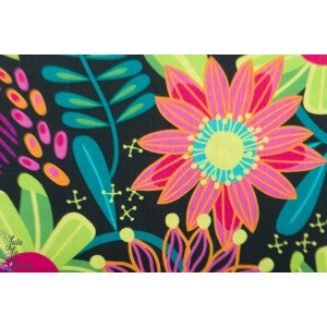 Popelone Forest Fancies 319MU  p&b textile fleur printemps patch