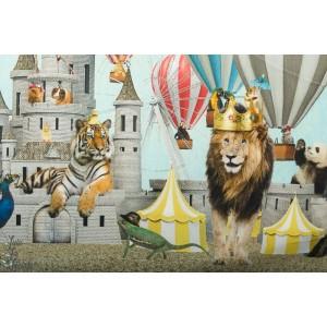 Jersey Double bordure Stenzo Chateau et animaux