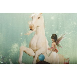 Panneau jersey Digital Stenzo fées et licorne