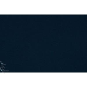 Kuschelsweat bio Bleu  dunkelblau