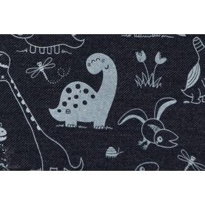 Jeans Dinosaures Lillestoff , couture pour petit garçon