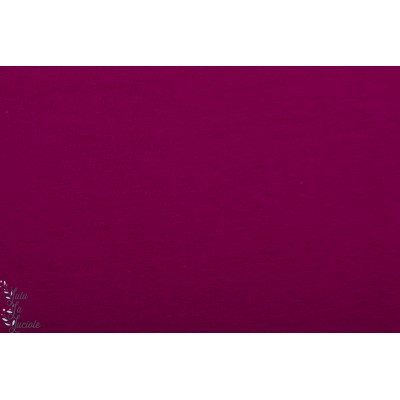 Summerjersey Bio Lillestoff Magenta violet sommer été