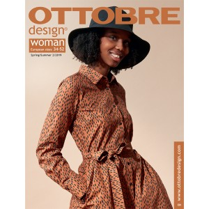 Magazine Femme Ottobre Design 2/19 woman patron couture
