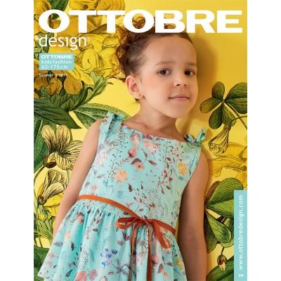 Magazine Ottobre Design Kids 3/2019 patron couture enfant