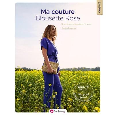 Livre Ma garde-robe Blousette Rose patron couture femme