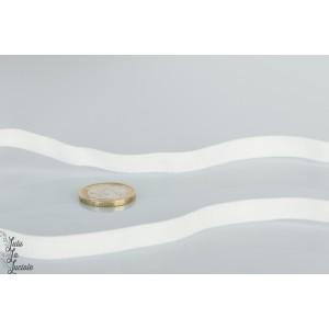 Ruban élastique 10mm 6014-blanc au mètre