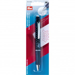 Stylo à mine blanc extra fin Prym 610840 crayon couture