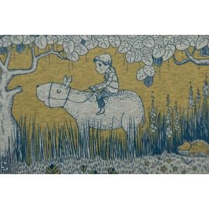 Jersey bio Wunderwald Susalabim lillestoff - merveilleuse forêt